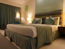 sypialnia w hotelu